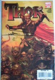 Thor #1 Zombies Variant Dynamic Forces Signed Arthur Suydam COA Ltd 40 DF Marvel comic book
